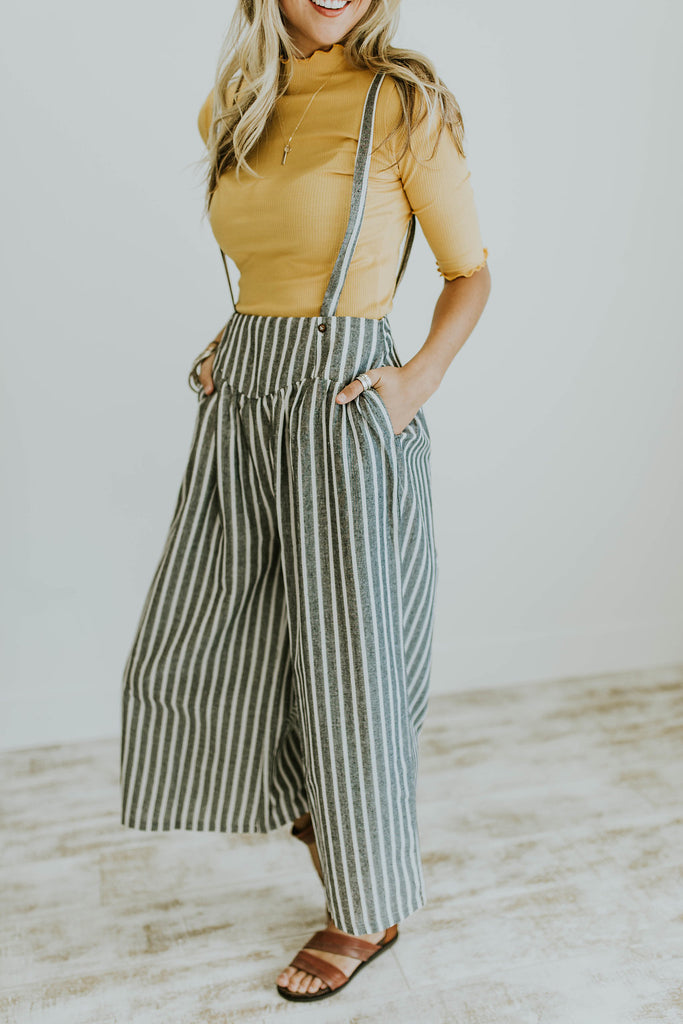 Thackery Overall Gauchos | ROOLEE