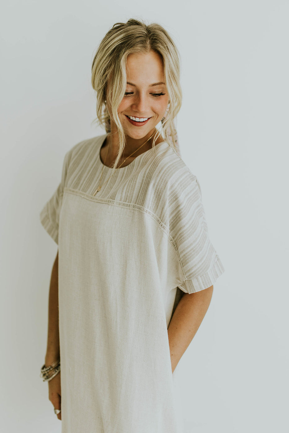 Cream Summer Sun Dress | ROOLEE