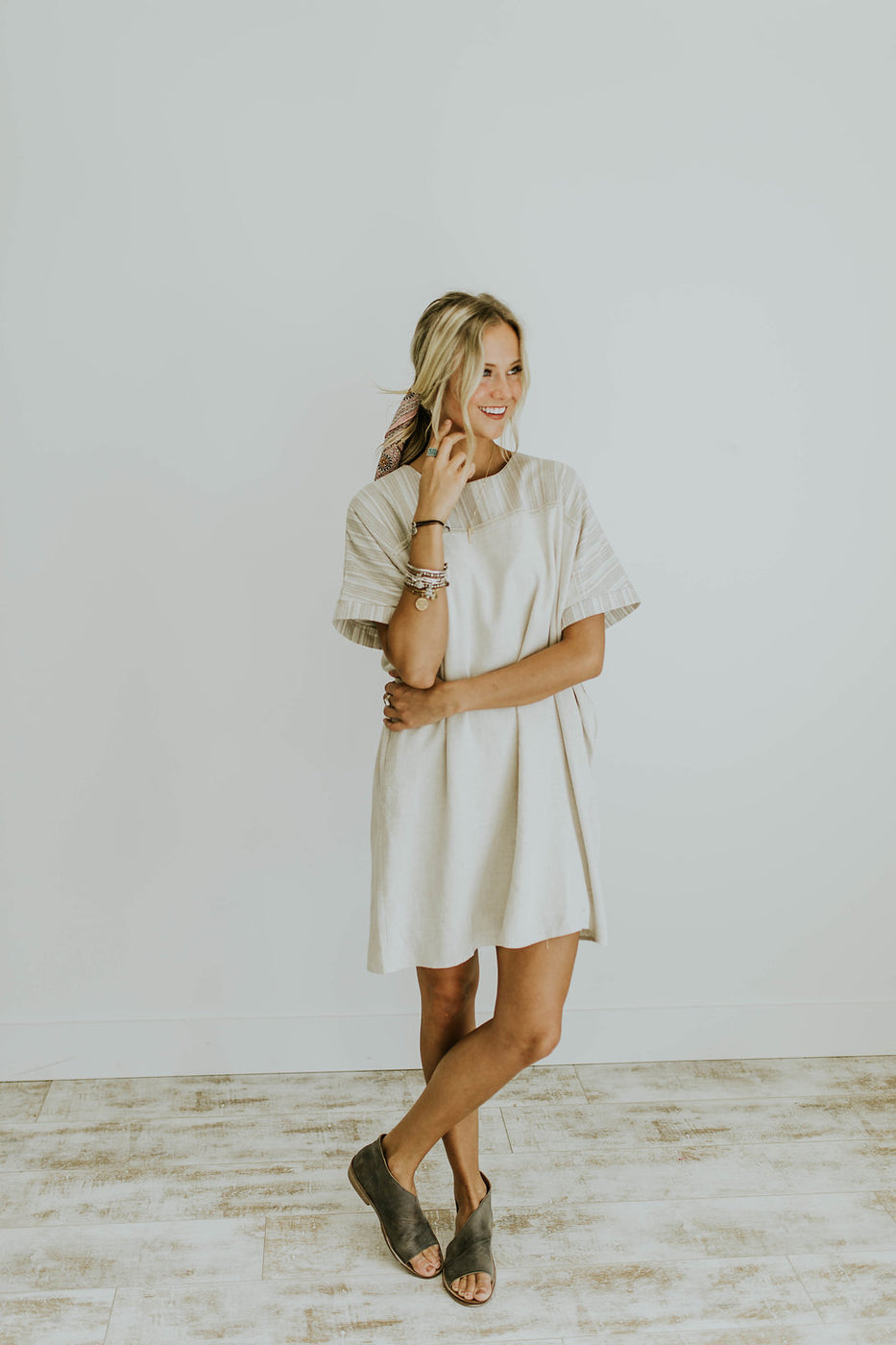 Anna Sun Linen Dress | ROOLEE