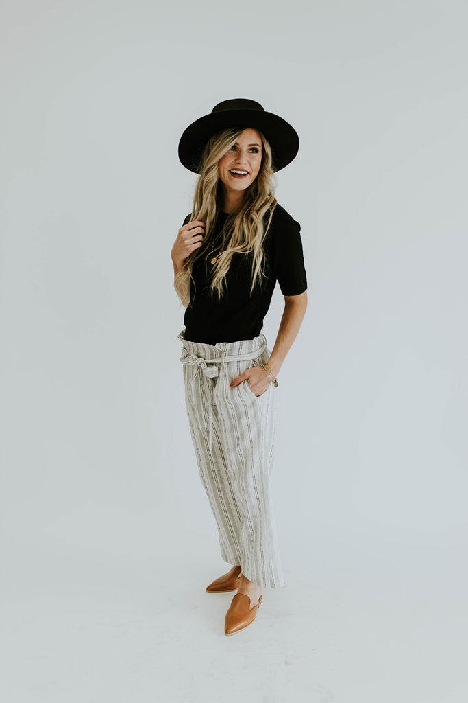 Step By Step Linen Pants | ROOLEE