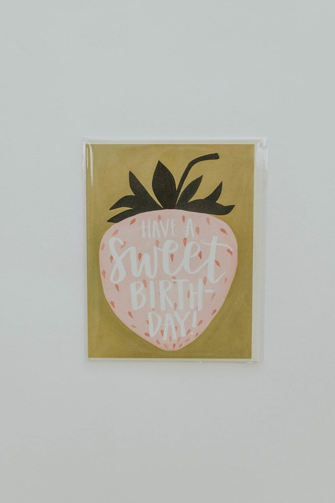 Sweet Birthday Berry Card | ROOLEE Paper + Party