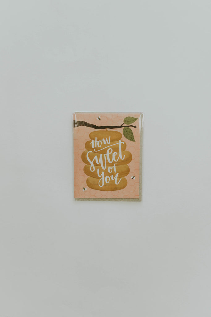 Honey Bee You're Sweet Card | ROOLEE