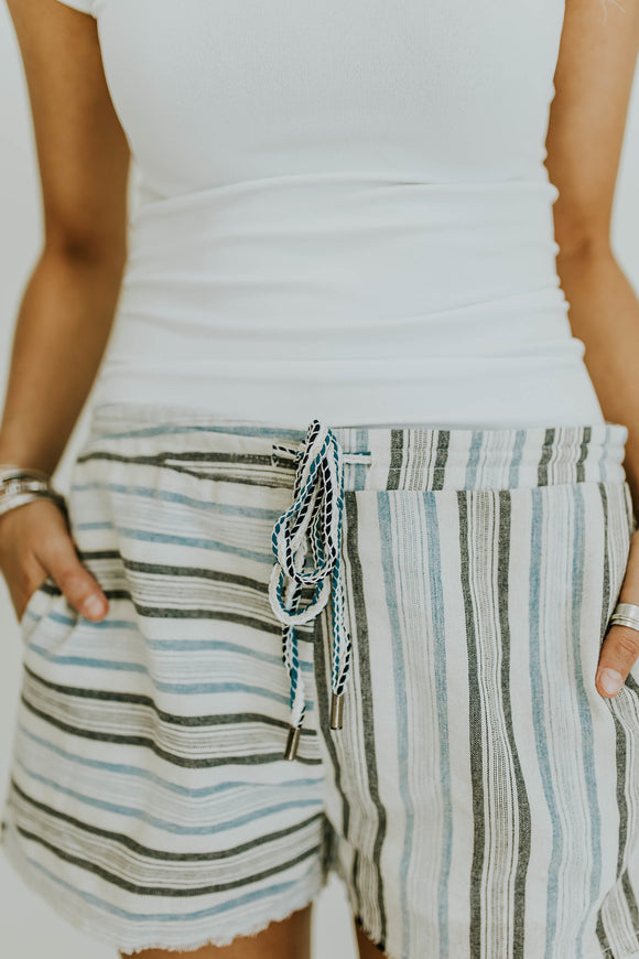 High Tide Stripe Shorts