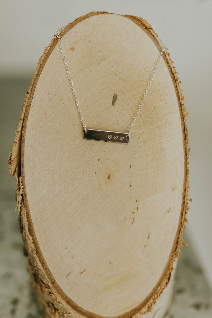 Hand Stamped Silver Jewelry | ROOLEE