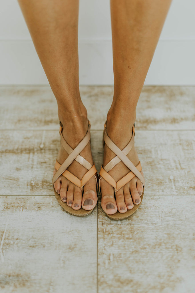 Criss-Cross Sandals | ROOLEE