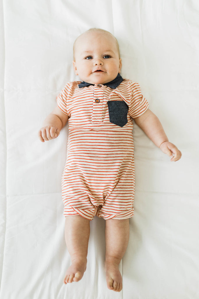 Stripe One-Piece | ROOLEE
