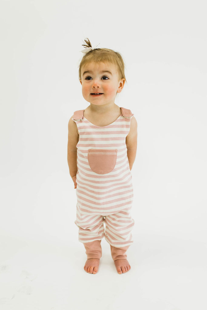 Stripe Baby Outfit With Pockets | ROOLEE Kids
