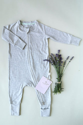 Grey onesies for baby | ROOLEE