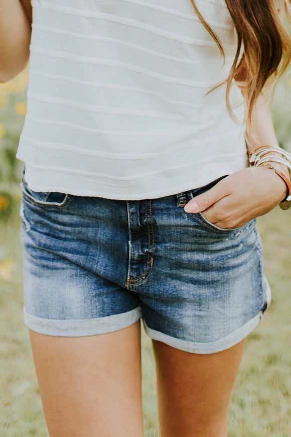 Daytona Denim Shorts