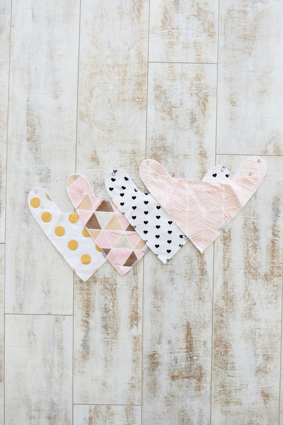 Bandana Bib - Blush Collection