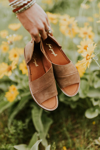 Free People Mont Blanc Sandal in Brown | ROOLEE