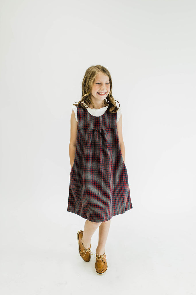 Dorothy Plaid Jumper | ROOLEE Kids