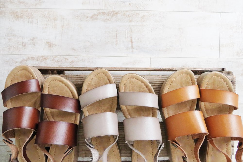 Talk of the Town Wedge in Taupe