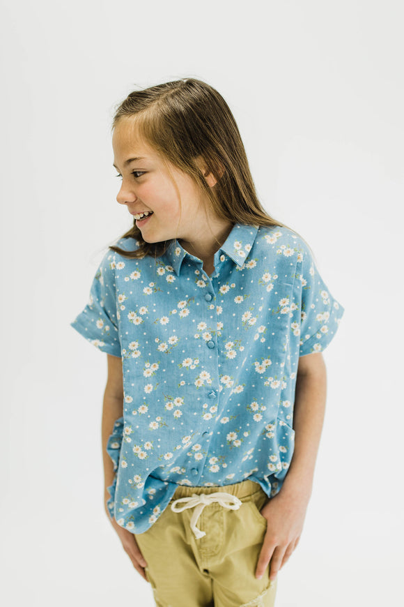 Daisy Dell Button Up | ROOLEE Kids