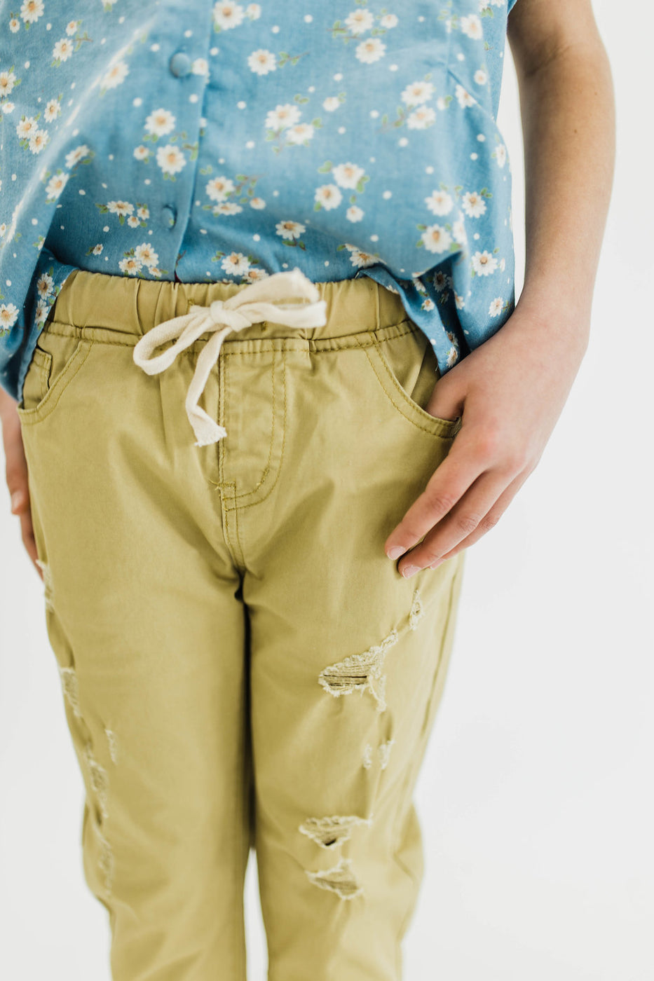Loose Fit Pants in Honey | ROOLEE