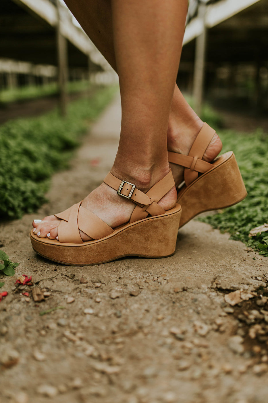Ashley Platform Wedge | ROOLEE