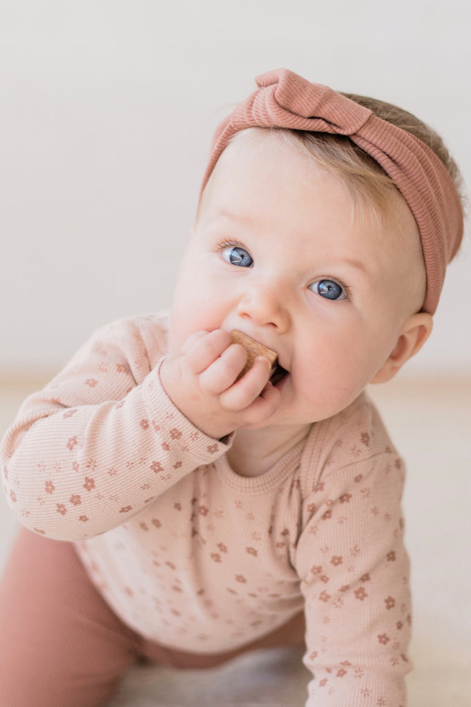 Ribbed Baby Turban | ROOLEE Kids