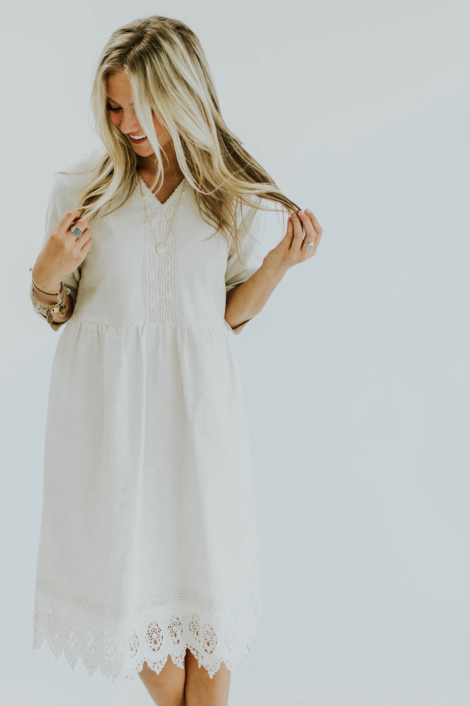 The Summerdale Lace Midi | ROOLEE