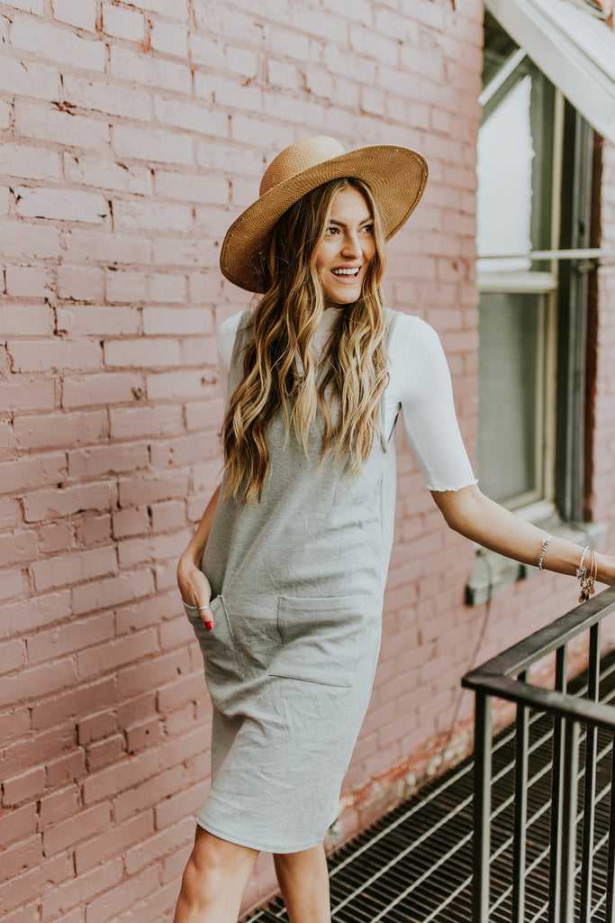 Modest Womens Dress with Pockets | ROOLEE