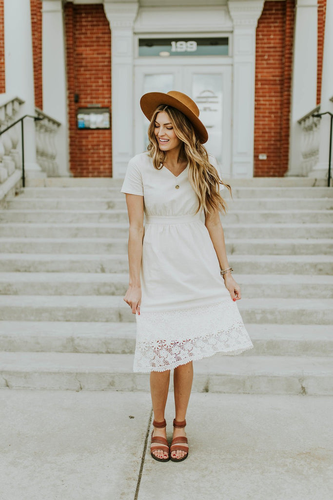 Ramsey Eyelet Dress | ROOLEE