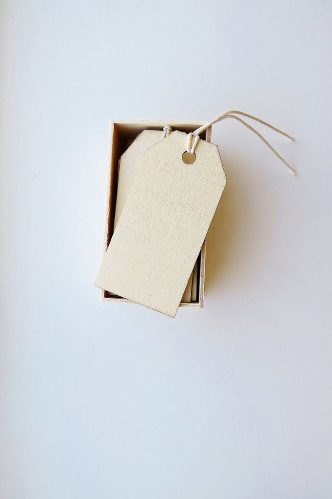 Wooden Utility Tags