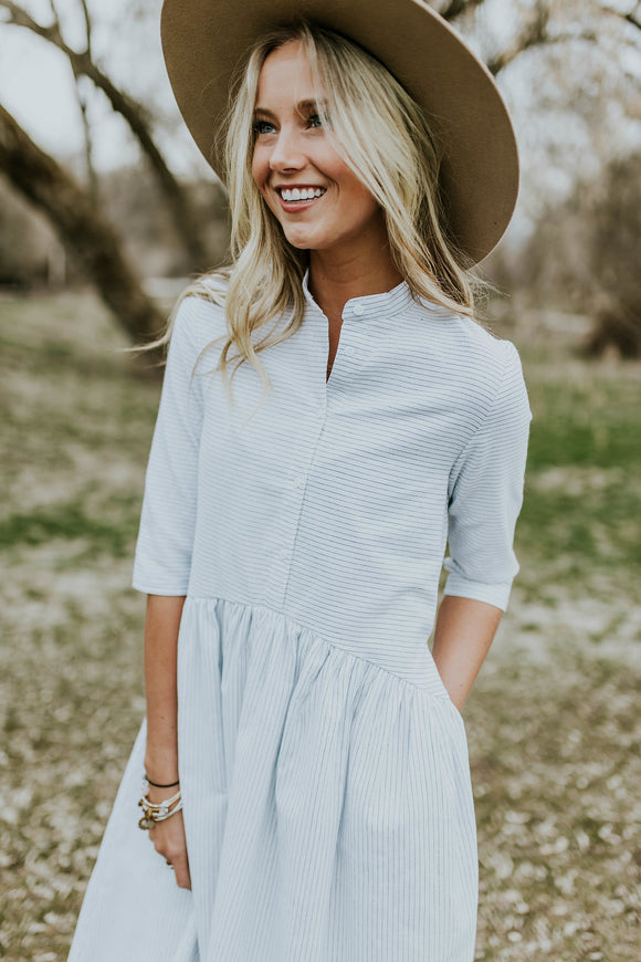 Piper Button Dress | ROOLEE