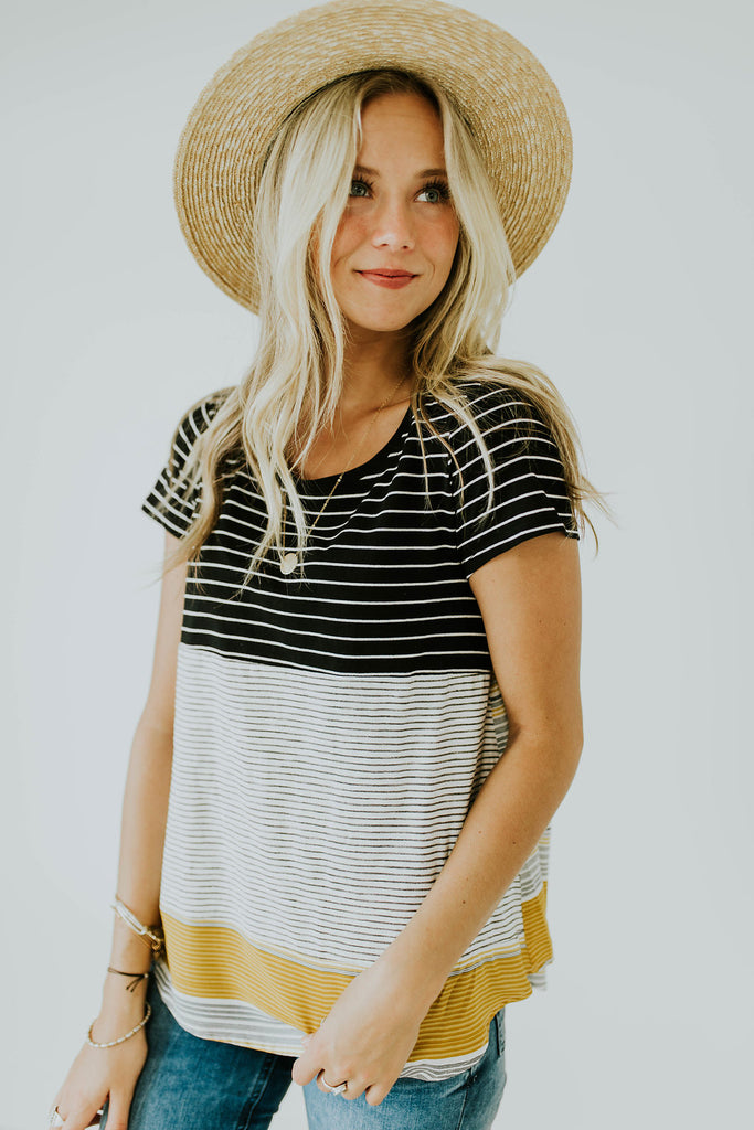 Earning Stripes Tee | ROOLEE