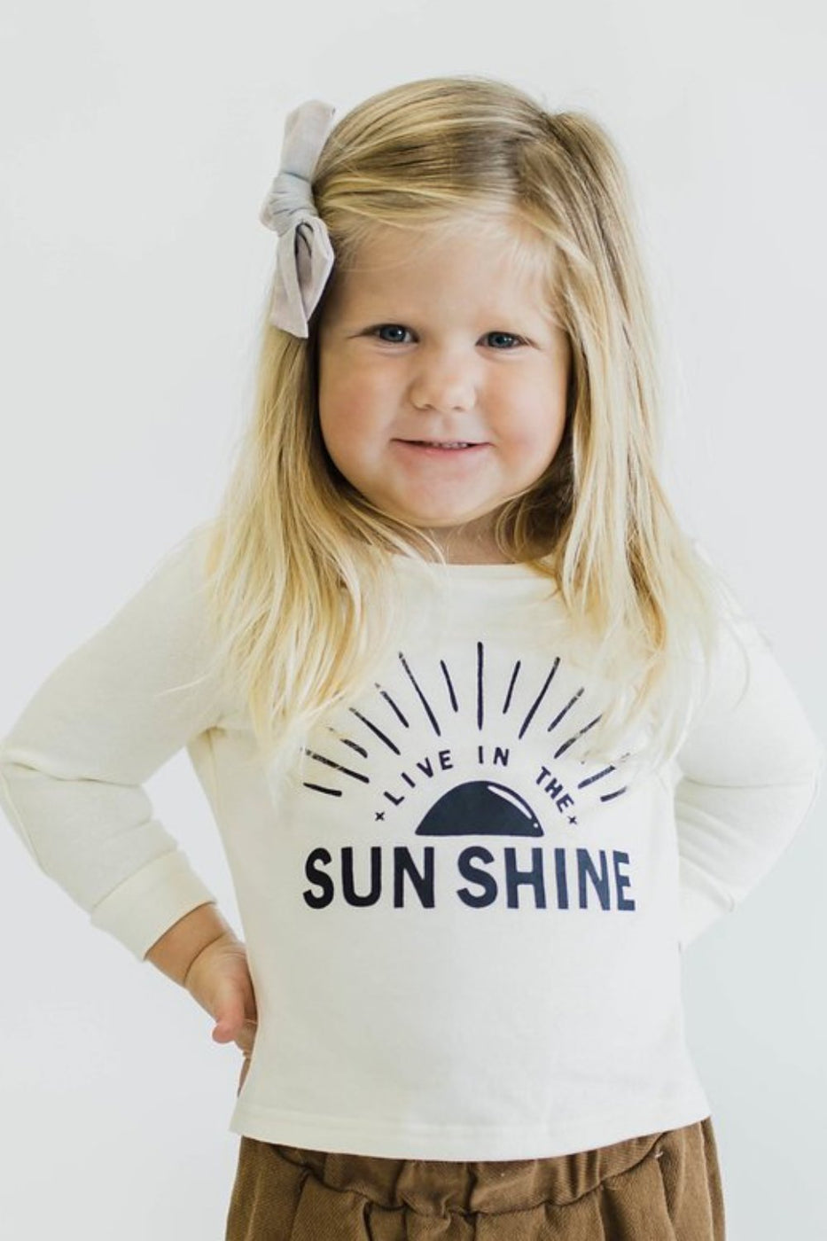 Sunshine Graphic Print Top | ROOLEE Kids