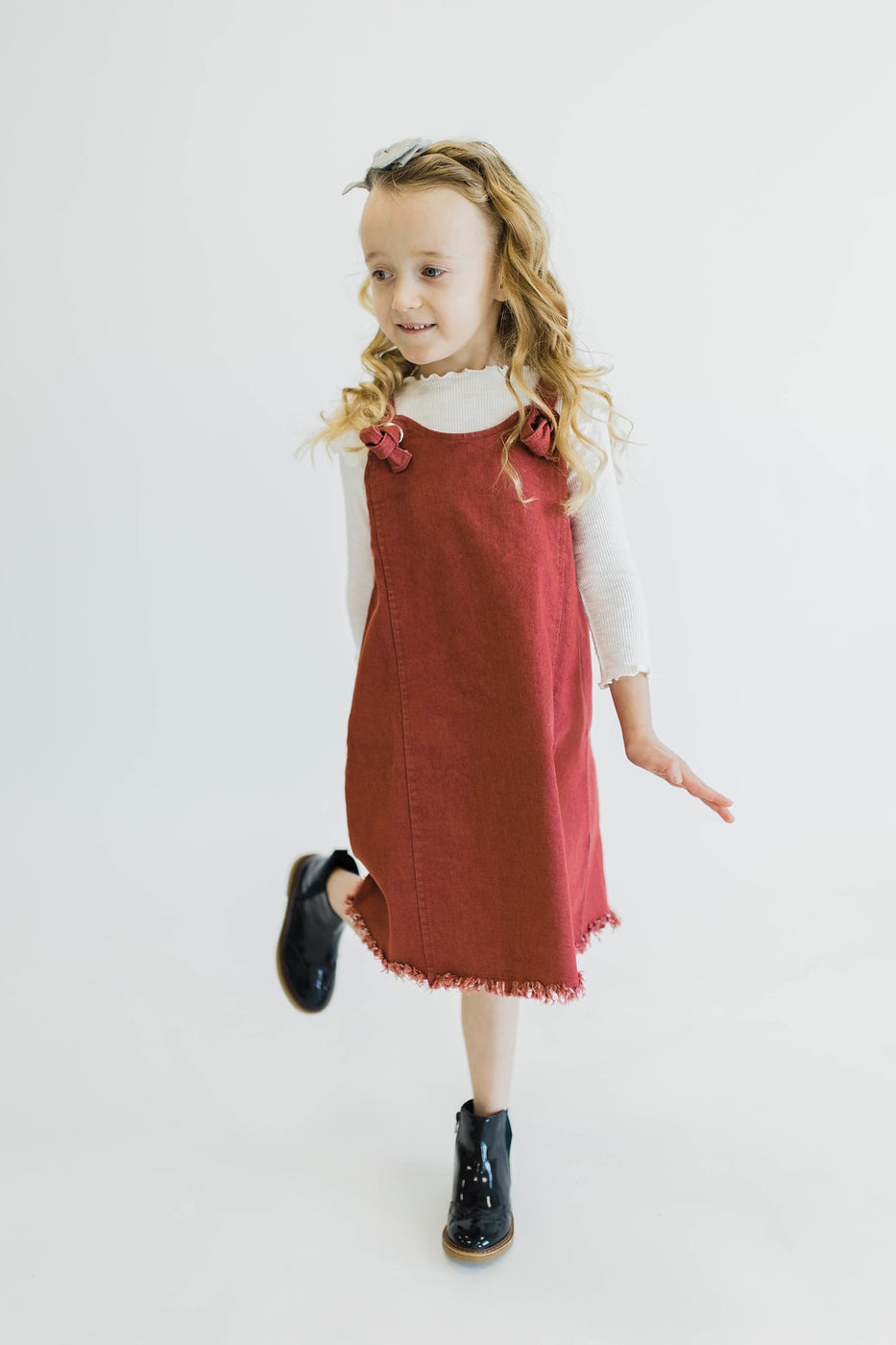 Overall Dress Kids Clothes | ROOLEE Kids