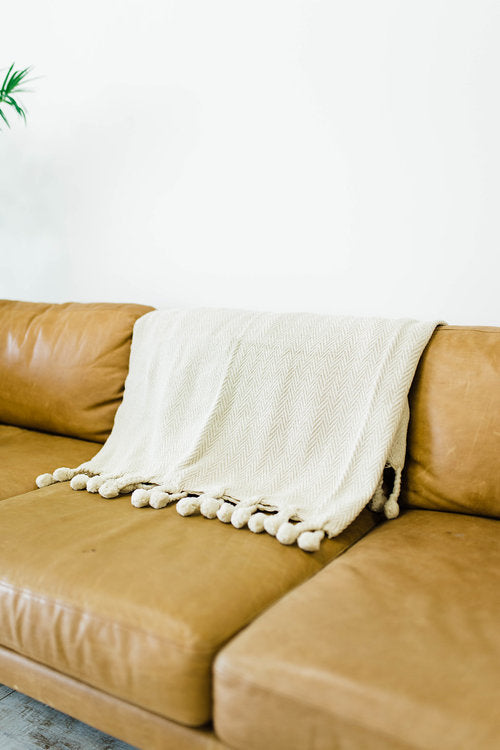 Avalon Braided Throw | ROOLEE