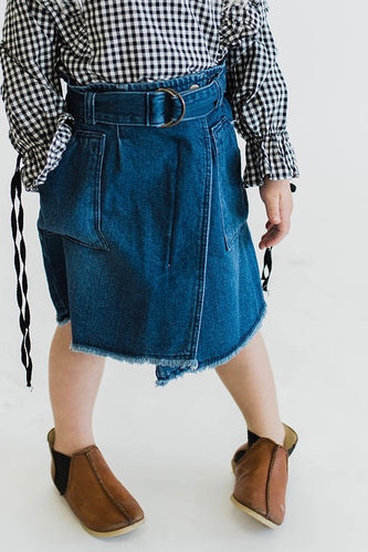 Kids Denim Skirt | ROOLEE Kids