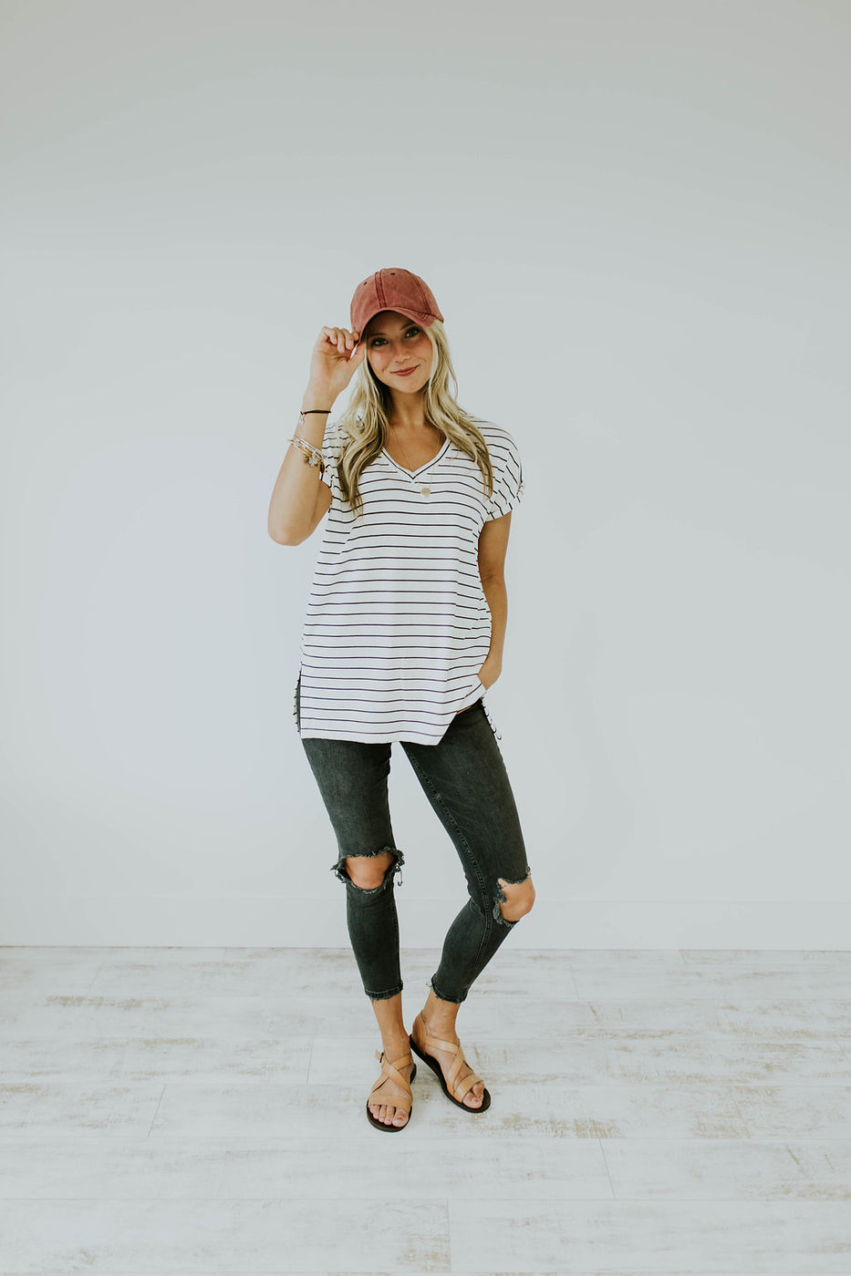Baseball Hat Outfit | ROOLEE