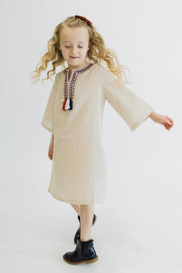Ellery Stripe Dress | ROOLEE Kids
