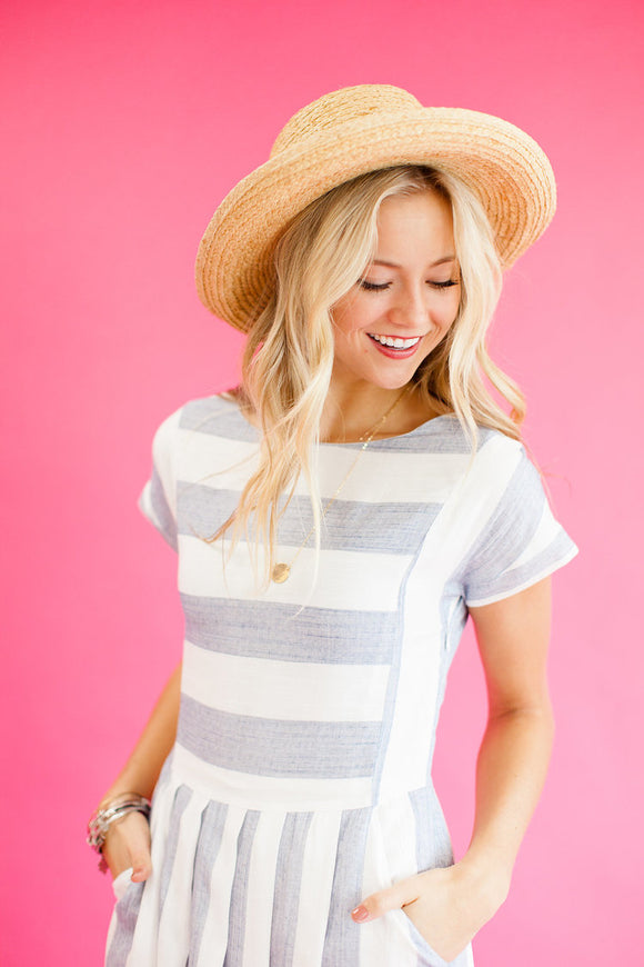 Zinnia Stripe Dress