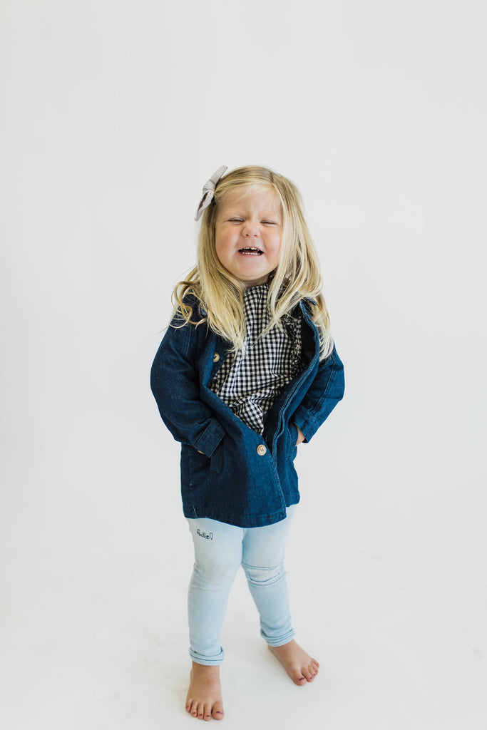 Time + Season Denim Jacket | ROOLEE Kids