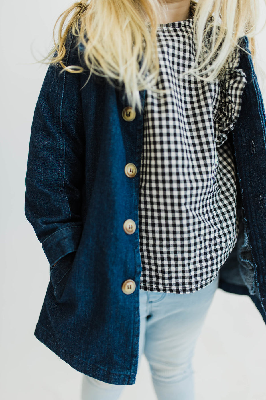 Button Down Jacket For Girls | ROOLEE Kids