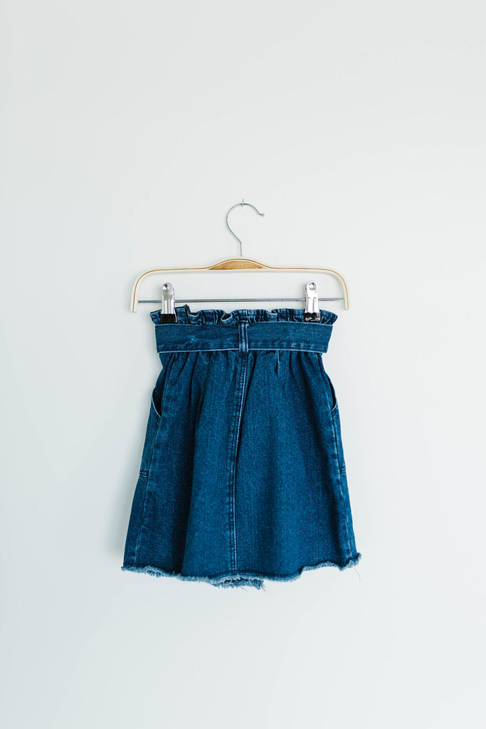 Children's Denim Skirt | ROOLEE Kids