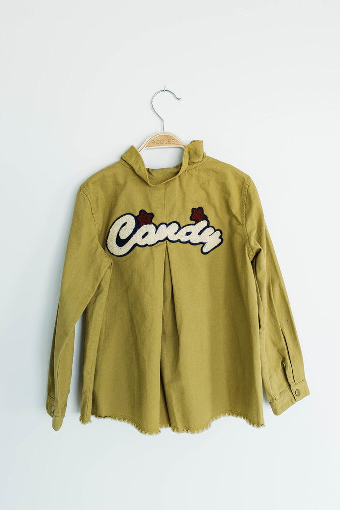 'Candy' Patch Jacket | ROOLEE Kids