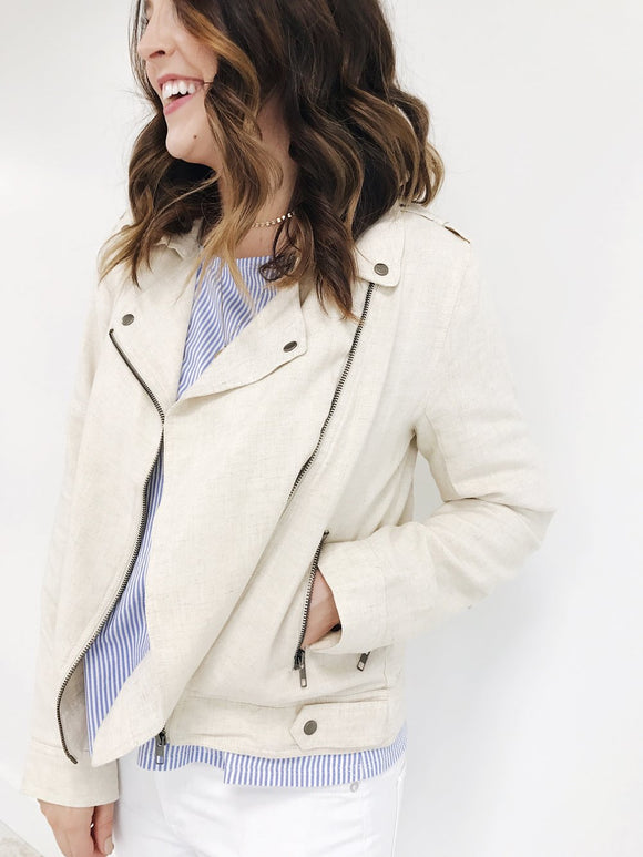 Scenic Route Linen Jacket