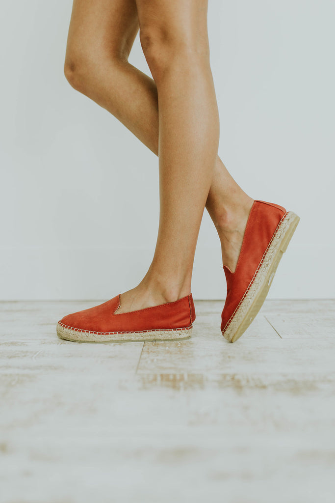 Free People Laurel Canyon Espadrille in Red | ROOLEE