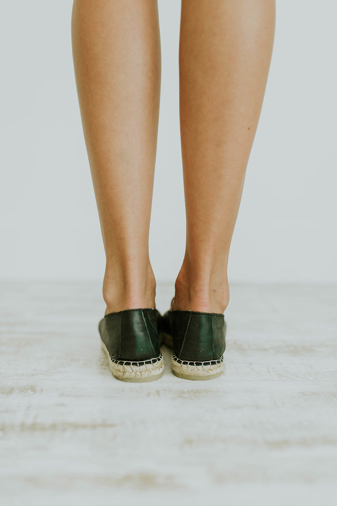 Free People Leather Flats | ROOLEE