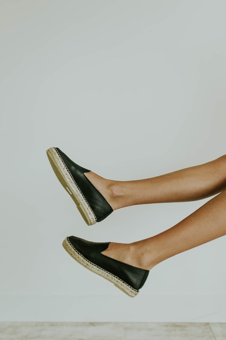 Free People Laurel Canyon Espadrille in Black | ROOLEE