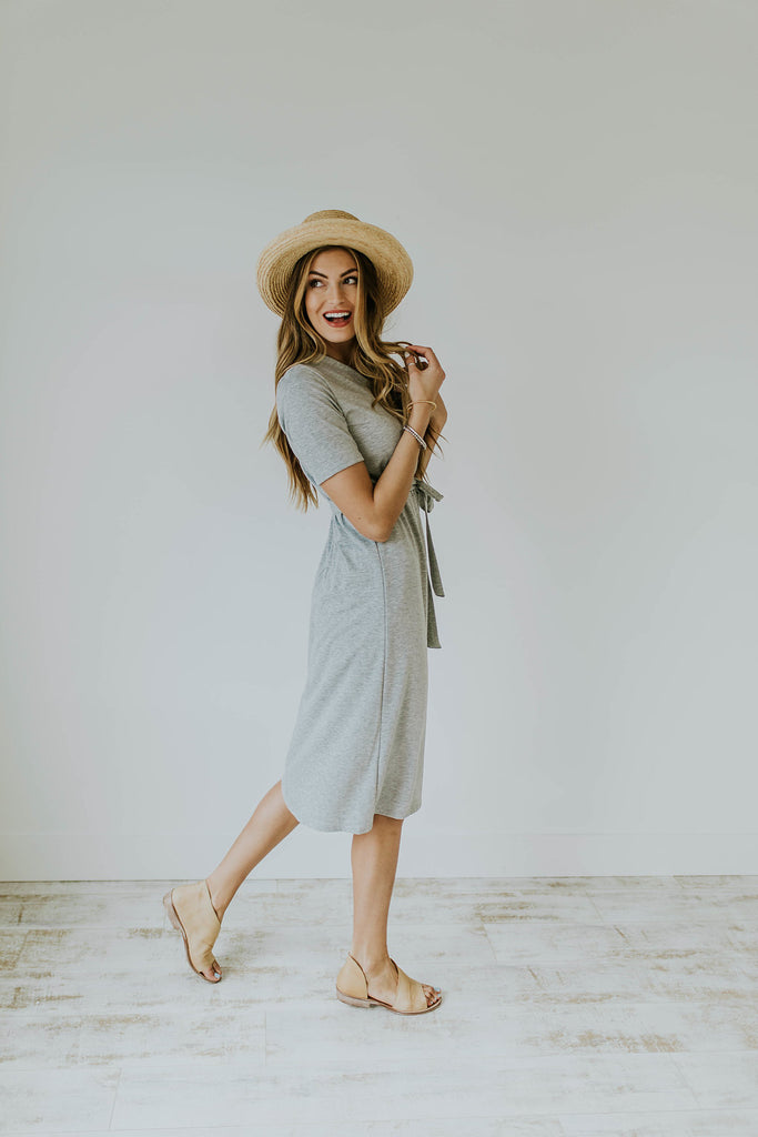 Carlisle Cropped Sleeve Dress | ROOLEE