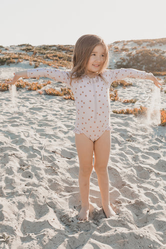 Rylee + Cru Sunburst Rashguard One Piece