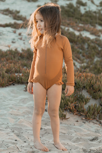 Girls Rashguard Swimsuit | ROOLEE