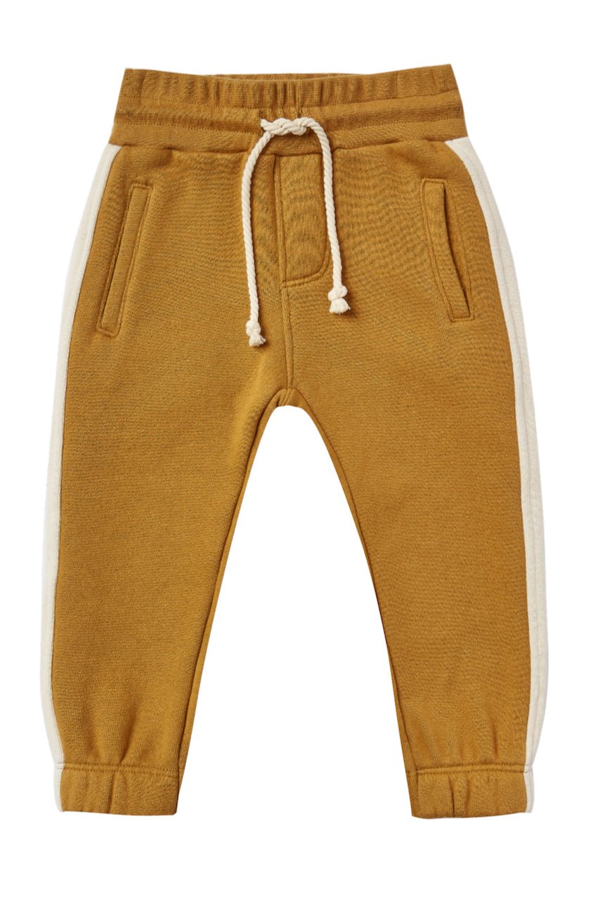 Mustard sweatpants for kids | ROOLEE