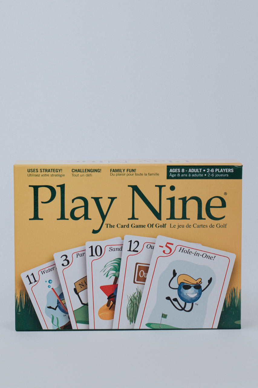 Play Nine Card Game | ROOLEE Gifts