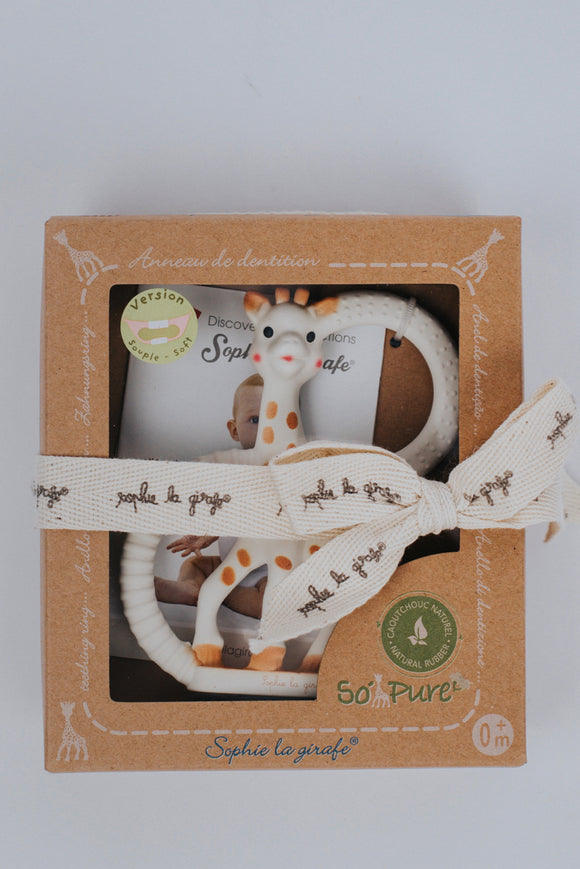 So'Pure Sophie Teether | ROOLEE Gifts