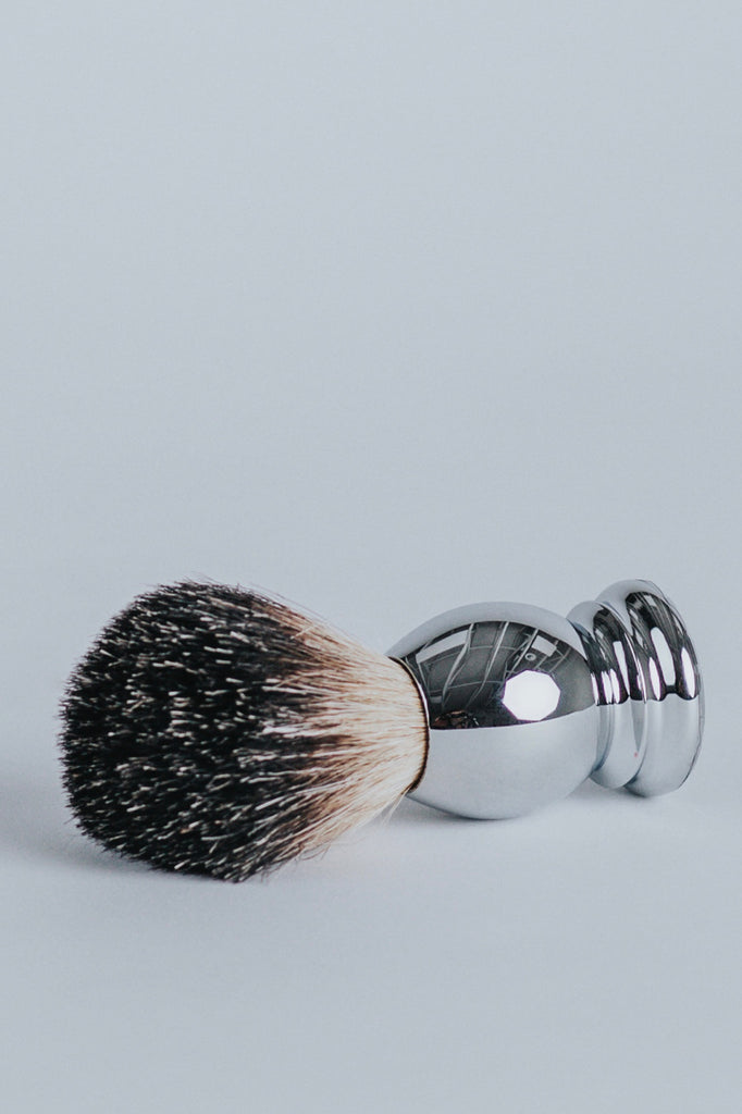 Chrome Shave Brush | ROOLEE