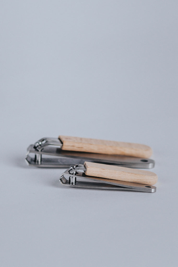Wood Nail Clipper Set | ROOLEE Gifts